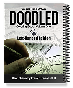 Order The Unique Hand Drawn Doodled Left Handed Coloring Book